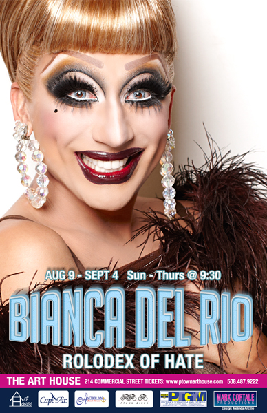 Bianca Del Rio Mark Cortale Presents